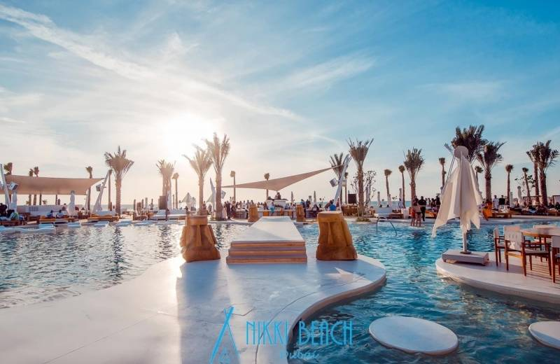 Hotel Nikki Beach Resort & Spa Dubai - Beach Club