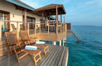 Two-Bedroom Water Villa Suite with Jacuzzi